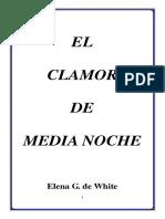 EL CLAMOR DE MEDIA NOCHE (Folleto)