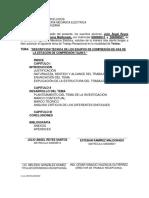 DESCRIPCION DEL EQUIPO DE COMPRESION