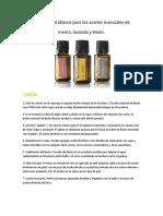 100 usos cotidianos Limon, Menta y Lavanda.pdf