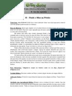 Esboço Infantil PAULO E SILAS NA-PRISÃO
