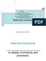 Real time Constraints