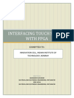 FPGA With Touch Screen