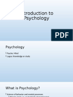 1Introduction to Psychology