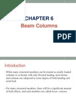 Steel Chapter 6 - Beam Columns
