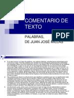 comentario del texto palabras de juan josé millás.pdf