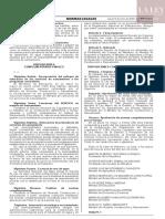 Decreto de urgencia N° 012-2020