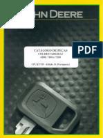 Catálogo de Peças Colheitadeiras John Deere 6200,7100 e 7200