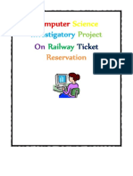 DocGo.Net-Computer Science Investigatory Project on Railway Ticket Reservation for Class 12