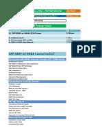 002.SAP ABAP on HANA Training Videos- Materials- Course Content Details