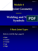 Day 3  Weld Joint Geometry, Welding and NDE Symbols.ppt