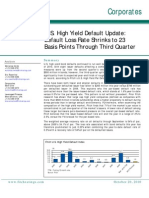 Fitch US HY Default - Q3 2010