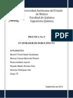 Vdocuments.mx Practica Evaporador de Doble Efecto