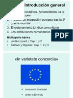 Introducción a la Economía Unión Europea