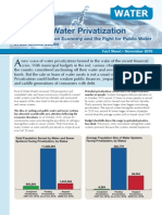 Trends in Water Privatization (Fact Sheet)