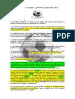 Reglas Liga Futsal empresarial junio 2019