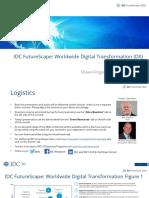 2020 DX IDC FutureScape - 2020 Webcon PPT Final