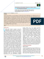 Evaluation of Antimicrobial and Antioxid