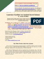 Laurence Gardner-White Powder Gold