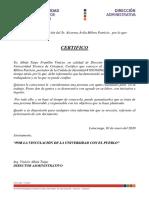 OFICIO DIRECCION ADMINISTRATIVA COLORES