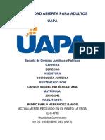 Tarea 8 Sociologia Juridica Fgd-102