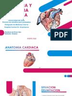 ANATOMIA Y FISIOLOGIA CARDIACA MI R1