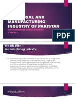 INDUSTRIAL AND MANUFACTURING INDUSTRY OF PAKISTAN f16me11 IE&M