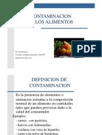 contaminacion alimentos .pptx