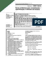 13. NBR 13818, 1997 - Placas Cerâmicas para Revestimento.pdf