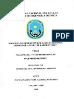 Proceso de obtención del 2,6 DICLOROFENOL INDOFENOL a nivel de laboratorio - Leonardo Machaca.pdf
