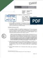 Escrito adicional presentado luego de la audiencia pública del proceso competencial.