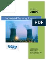 Ntpc Industrial Training Report