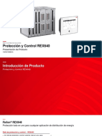 REX640_Product Introduction Presentation 1MRS758996 A_Spanish