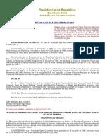 Decreto 10163_2019_Hidrovia de Cáceres