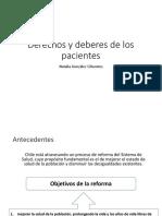 Derechos y deberes de los pacientes arreglada