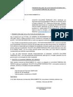 PRESENTO RECLAMO  DE LA FACTURACIÓN DE ENERO 2020 – Y LA CLAUSURA TEMPORAL DEL SERVICIO.docx