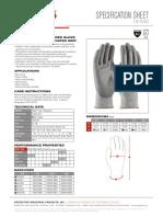PIP 16-530//XS G-Tek Salt /& Pepper Grip Gloves with HPPE Fiber XS Size Pack of 12 Gray