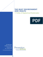 THE BUILT ENVIRONMENT AND HEALTH