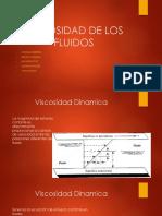 VISCOSIDAD DE LOS FLUIDOS.pptx