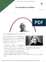 O que é discurso_ Uma abordagem Foucaultiana _ Colunas Tortas