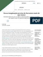 Nossa imaginação precisa da literatura mais do que nunca _ Opinião _ EL PAÍS Brasil.pdf
