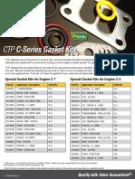 Jogos de juntas CTP F-720-062
