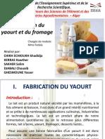 Tp Fabrication de Yayaurt