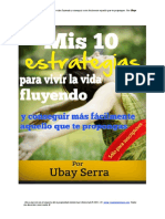 Ubay Sanchéz_10 Estrategías Para Vivir La Vida Fluyendo