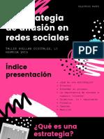 La estrategia de difusión en redes sociales (3)