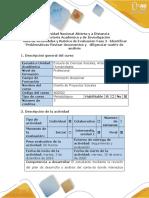 Guía de actividades y rúbrica de evaluación - Fase 2 - Identificar problemáticas