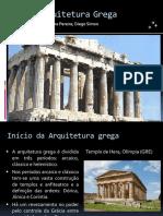 Arquitetura Grega - Seminário