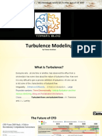 Turbulence Modeling - by Tomer Avraham