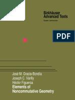 Gracia-Bondía, Várilly, Figueroa-Elements of Noncommutative Geometry-Birkhäuser Basel (2001)