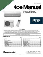Panasonic CS-E9CKP CS-E12CKP service manual log.pdf