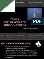 TEMA 1 EXPLORACION DE HIDROCARBUROS